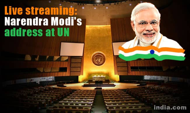 Prime Minister Narendra Modi's UN address watch live stream online: Narendra Modi's speech at 69th session of United Nations General Assembly