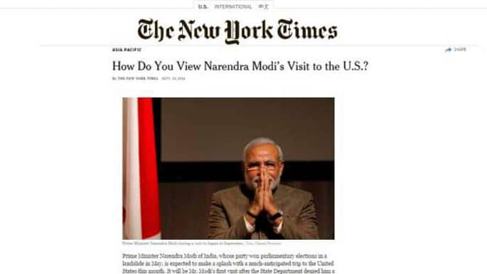 The New York Times' Investigation (or Inquisition?) of Narendra Modi