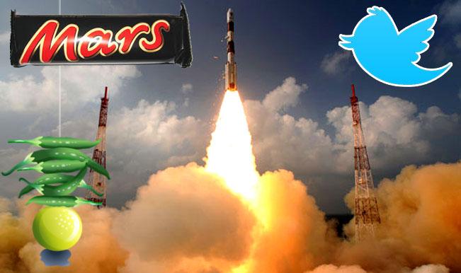 Mangalyaan successful: Overwhelmed Twitter folks tweets funny Mars chocolate jokes