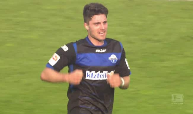 Video: Watch Paderborn's Moritz Stoppelkamp 82-metre wonder goal against Hannover 96 in the Bundesliga