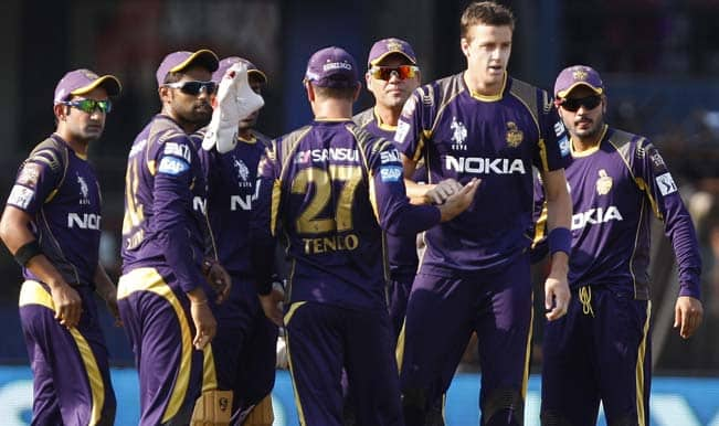 Live Cricket Score Board & Ball by Ball Commentary of Kolkata Knight Riders (KKR) vs Dolphins (DOL) Group A Match 18 of Champions League T20 (CLT20) 2014