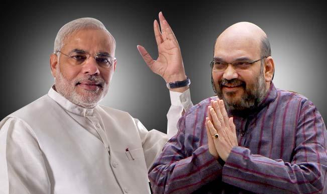 NCP's assembly poll bugle targets Amit Shah, Narendra Modi