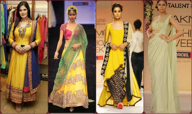 Navratri 2016: Day 6 colour Yellow, top looks you MUST incorporate in your festive wardrobe!
