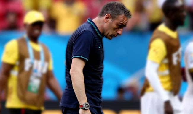 Portugal relieve Paulo Bento of managerial duties after shock Albania defeat