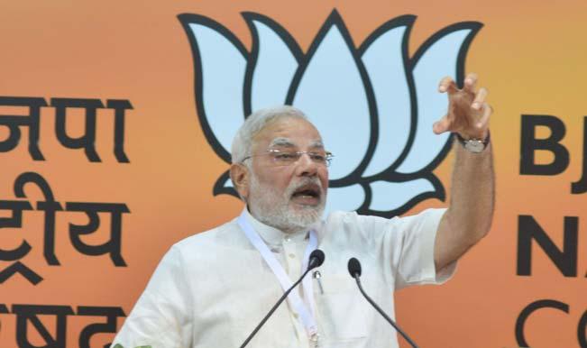 Narendra Modi's Birthday: Jayalalithaa, K Rosaiah, Anandiben Patel greeted Prime Minister on his 64th birthday