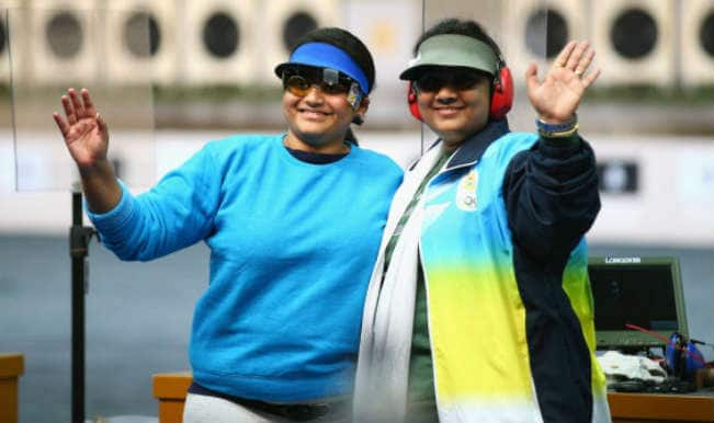 Shooters Heena Sidhu, Rahi Sarnobat and Anisa Sayyed win 4th bronze for India in Asian Games 2014
