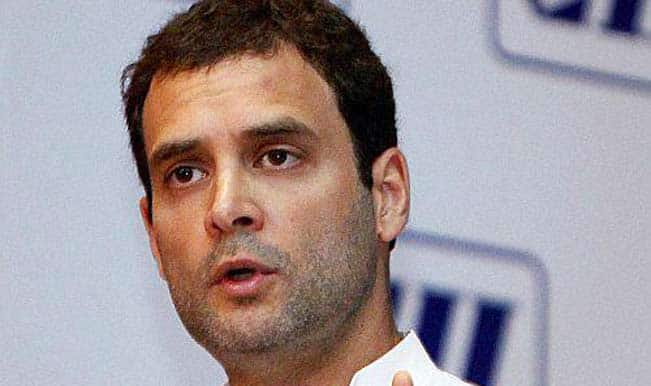 Rahul Gandhi to visit parliamentary constituency Amethi