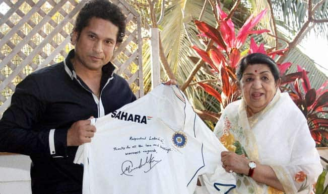Sachin Tendulkar to felicitate Lata Mangeshkar on 85th birthday