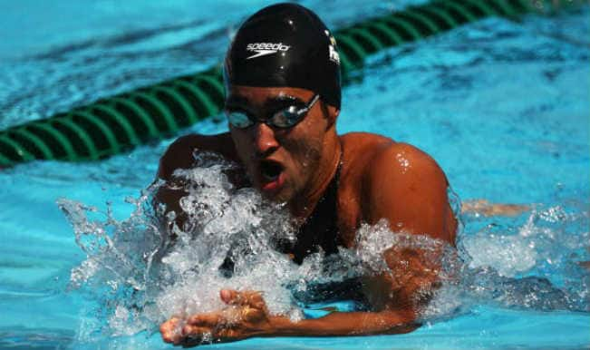 Swimmer Sandeep Sejwal wins bronze medal in Men's 50m Breaststroke Final at Asian Games 2014