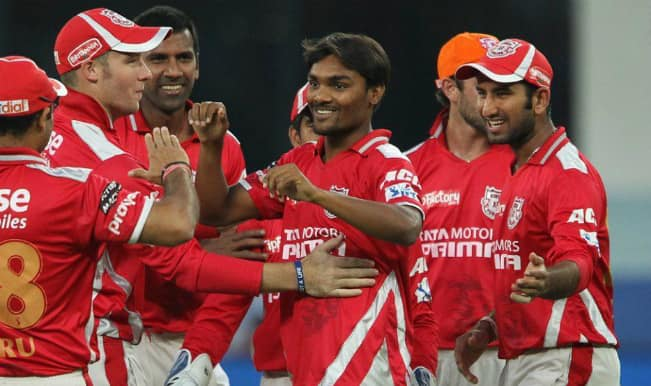 Champions League T20 2014: Kings XI Punjab (KXIP) win toss; elect to field against Hobart Hurricanes (HBH) in CLT20 Group B Match 2