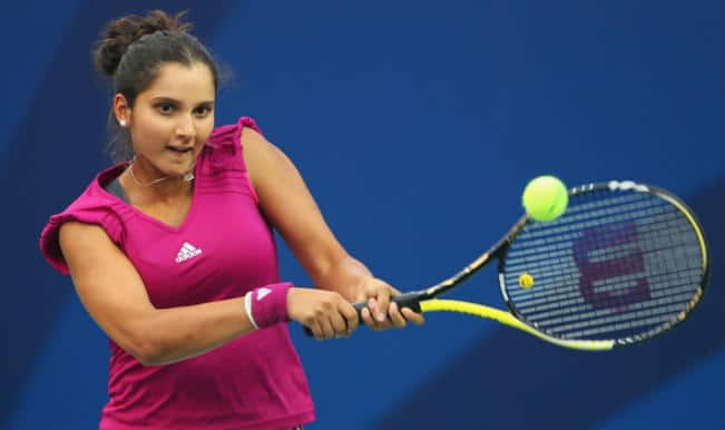 Sania Mirza S And Sania Mirza In Action