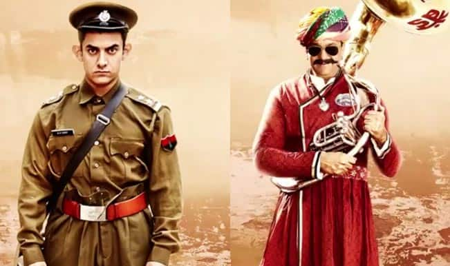 Aamir Khan's PK third poster: What is Sanjay Dutt doing in this one?
