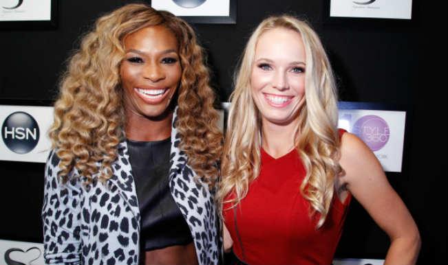 Serena Williams parties all night with Caroline Wozniacki post winning US Open 2014!