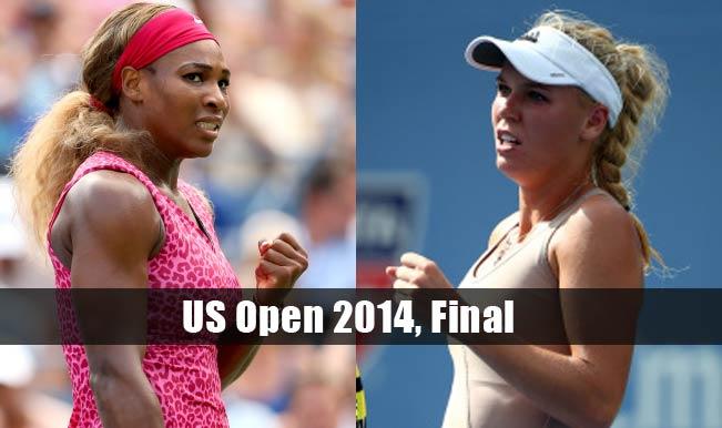 Serena Williams vs Caroline Wozniacki Live Updates US Open 2014 Final: Serena Williams wins US Open title, beats Wozniacki 6-3, 6-3