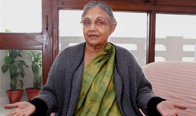 Sheila Dikshit backs BJP; Congress upset over her shocking stand