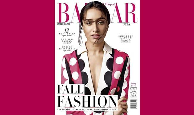 Shraddha Kapoor is stunningly stylish on the cover of 'Harper's Bazaar'