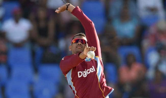 West Indies and KKR spinner Sunil Narine reported for suspect action