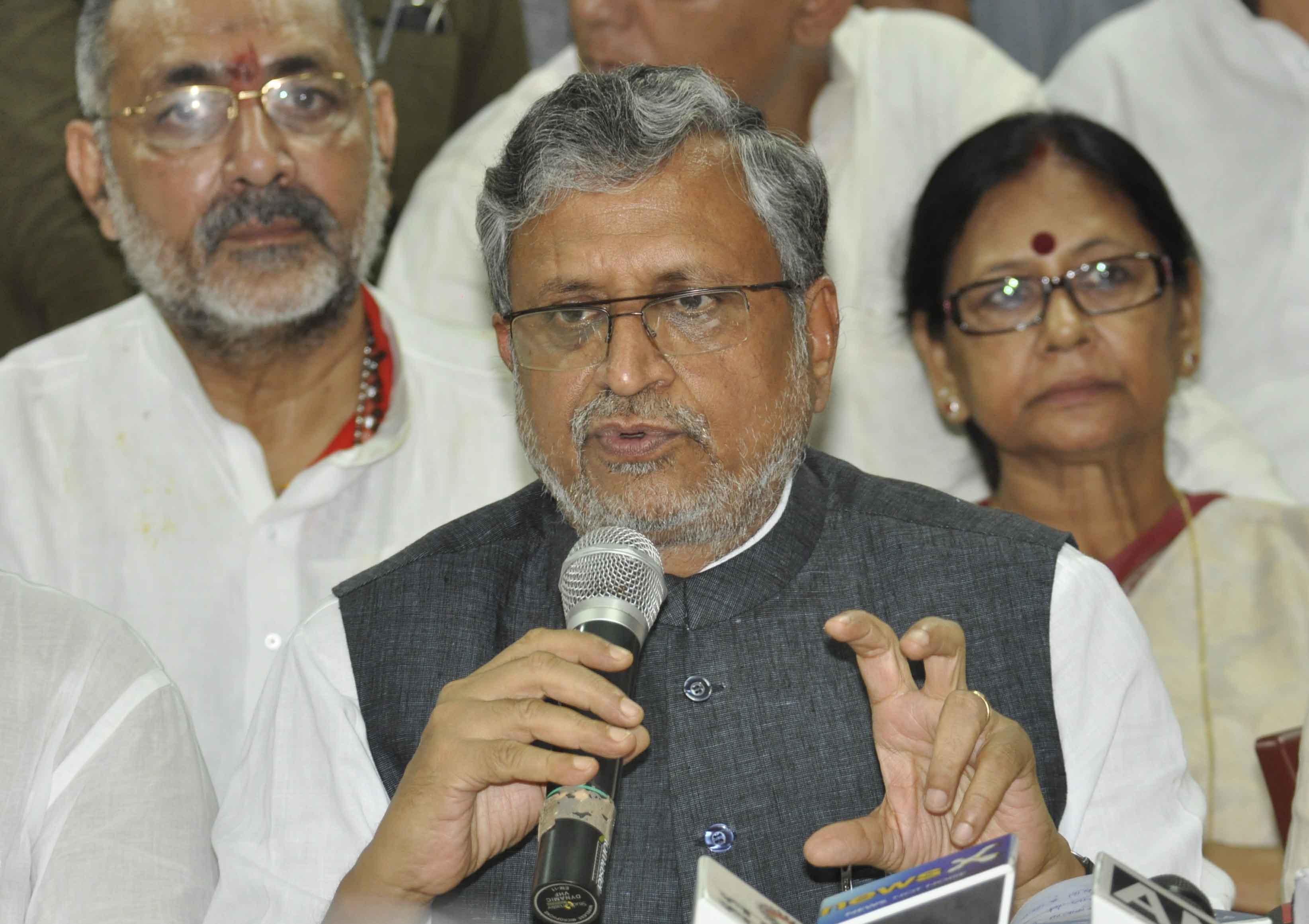 Sushil Kumar Modi: Bihar CM's visit to London for investment useless