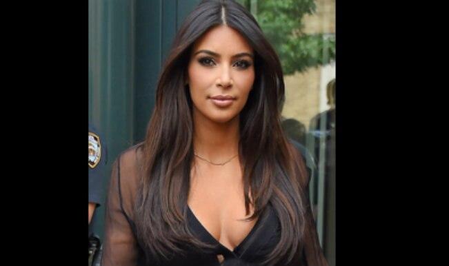 Kim Kardashian cuts her hair