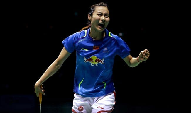 Asian Games 2014L Badminton: China's Wang Yihan upsets compatriot and world no 1 Li Xuerui to clinch gold medal