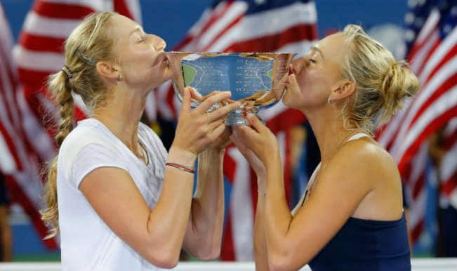 US Open 2014: Ekaterina Makarova, Elena Vesnina take women's doubles title