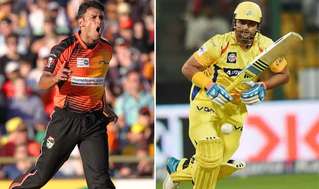 Chennai Super Kings vs Perth Scorchers, CLT20 2014: Will Yasir Arafat stop highflying Suresh Raina?