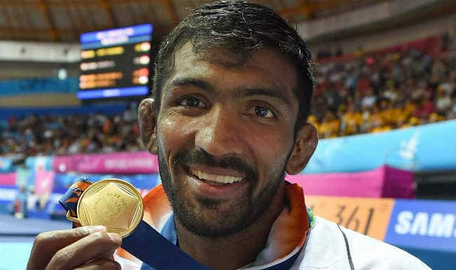 Yogeshwar Dutt ends India's 28-year wait for wrestling gold in Asian Games 2014