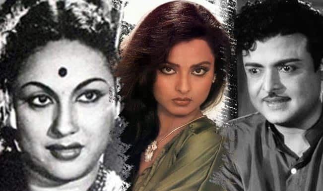 Rekha Family Childhood Photos Actress: Indian Films And Posters From 1930: Film (Ghunghroo Ki