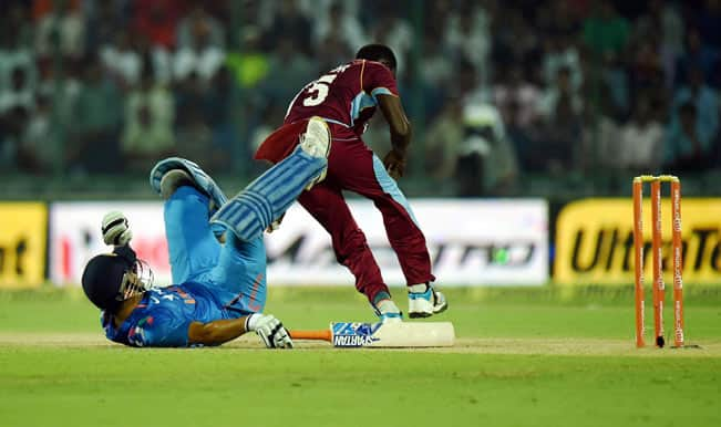 India vs West Indies 3rd ODI called-off due to HudHud Cyclone