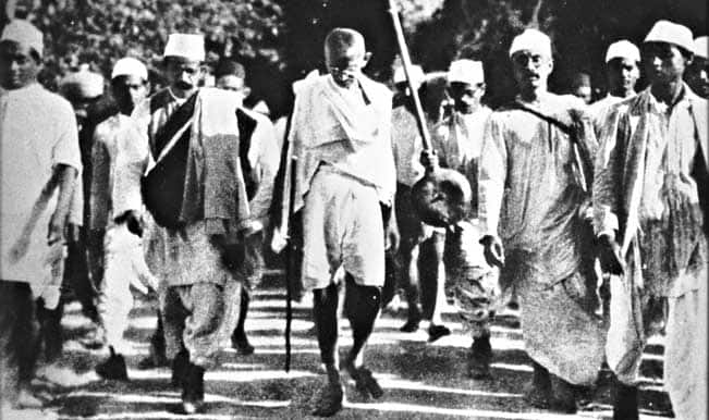 Mahatma Gandhi's role in Freedom struggle