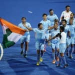 Asian Games 2014: Gold medal winning Indian Men's Hockey team return home