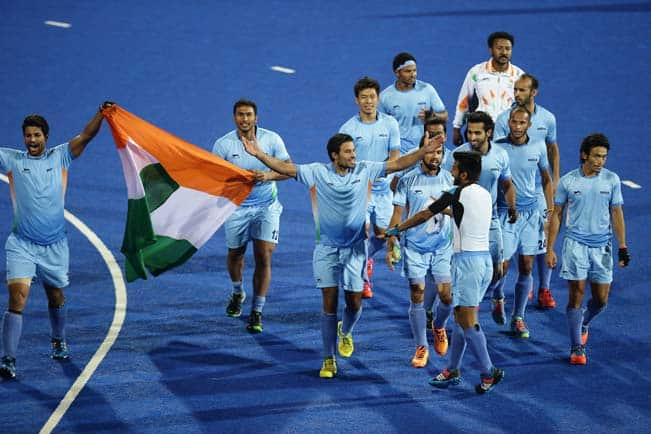 Asian Games 2014: Gold medal winning Indian Men's Hockey team return home