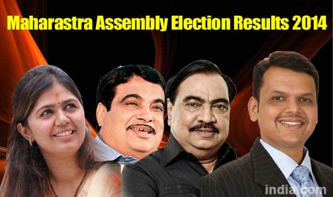 Maharashtra Assembly Elections 2014: Top 4 expected Chief Ministerial candidates in the state