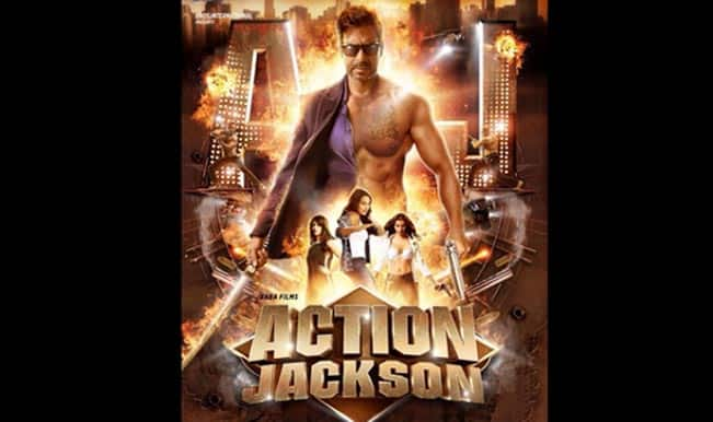 Action Jackson first look: Ajay Devgn to join the 8-pack bandwagon?