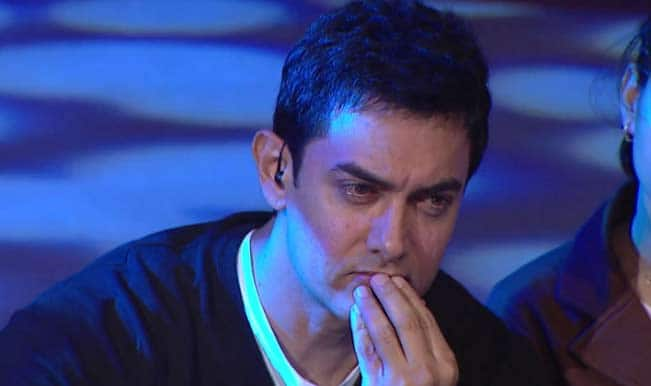 Aamir Khan is upset about not being able to vote this time