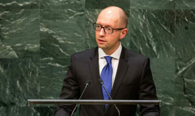 Ukrainian Prime Minister calls for broad governmental coalition