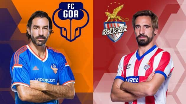 ISL 2014 Live Score Update of FC Goa vs Atletico de Kolkata Football Match: Cavin Lobo double helps ATK register 2-1 comeback victory over FC Goa