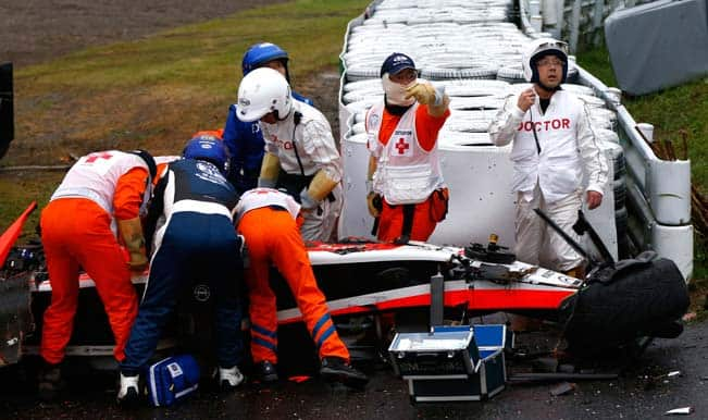 Jules Bianchi crash: Nervous wait for Bianchi family and Marussia team after Japanese Grand Prix accident