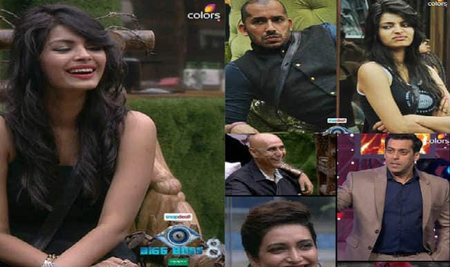 Bigg Boss 8 Day 34 Weekend Ka Vaar: Salman Khan and Ali Quli Mirza criticize Sonali Raut for her Kamchor attitude