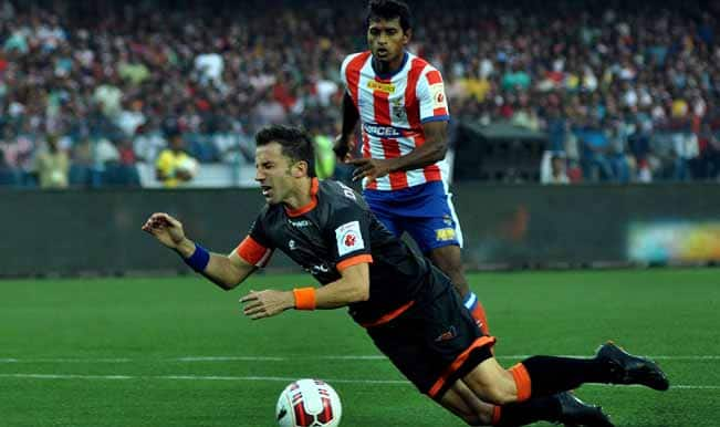 Indian Super League: Delhi Dynamos manager Harm van Veldhoven furious over Alessandro del Piero's denied penalty