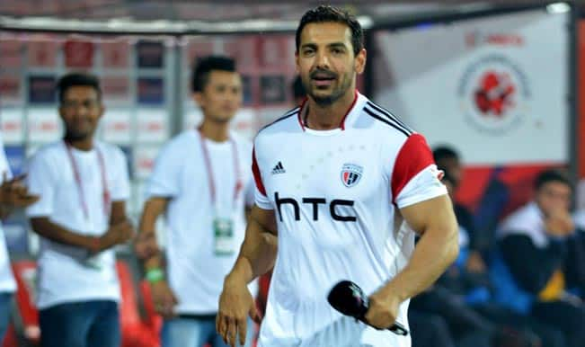Indian Super League: John Abraham calls for Shillong Lajong fans to render support NorthEast United FC in ISL 2014