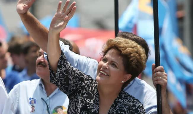 Dilma Rousseff re-elected as Brazil president