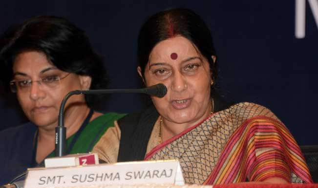 Sushma Swaraj seeks mandate for 'clean and good governance' in Haryana