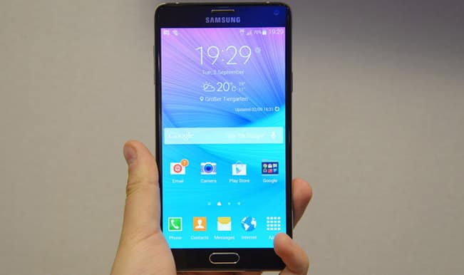 Samsung Galaxy Note 4 launched for Rs 58,300