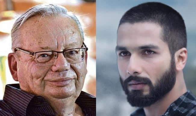 Shahid Kapoor's performance in Haider impresses Ruskin Bond!