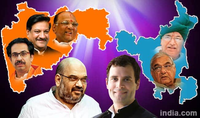 Assembly Elections 2014: BJP leading in Haryana, battling with Congress in Maharashtra