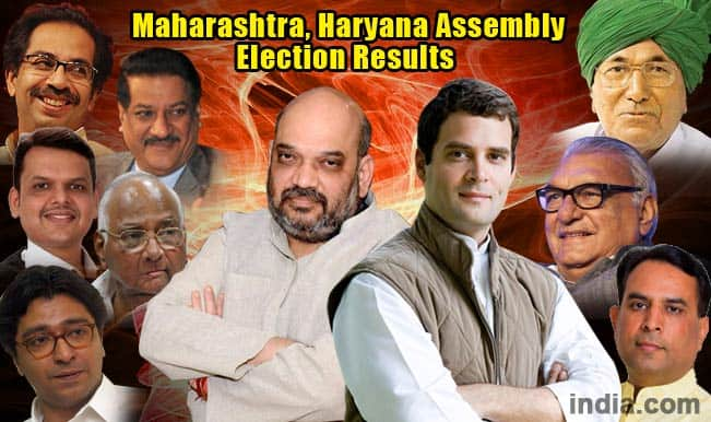 Maharashtra, Haryana State Assembly Election Results 2014: BJP rides high on Modi wave as Congress hits a new low
