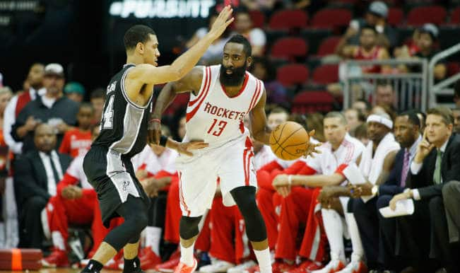 NBA 2014-15: James Harden leads San Antonio Spurs past Houston Rockets in pre-season game
