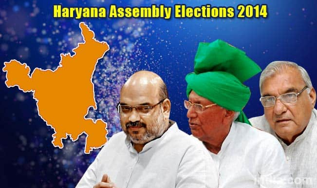 Haryana State Assembly Election Results 2014: BJP, INLD, and Congress party position at 3 pm
