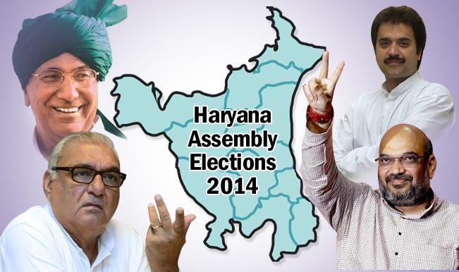 Haryana Assembly Elections 2014: Brisk ballotting in Haryana; BJP, INLD confident